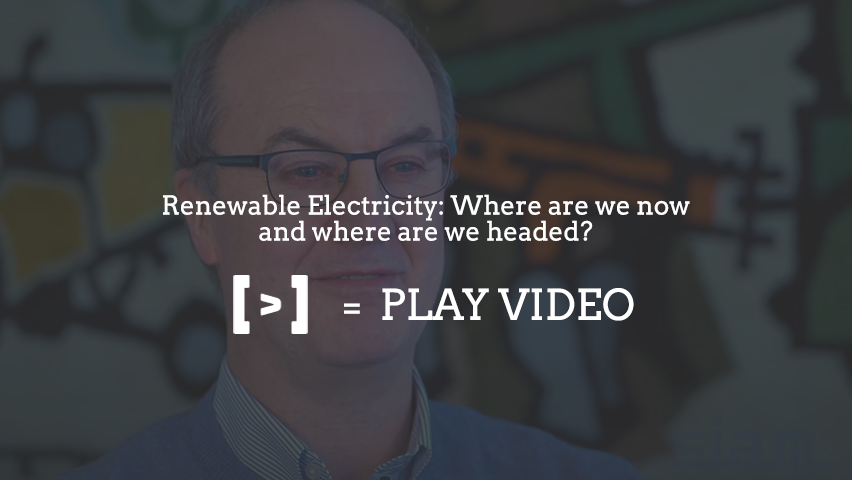 Renewable Electricity: Where are we now and where are we headed?